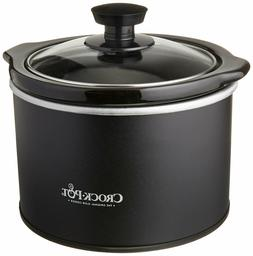 1.5 Quart Mini Slow Cooker Glass Lid with Removable Stonewar