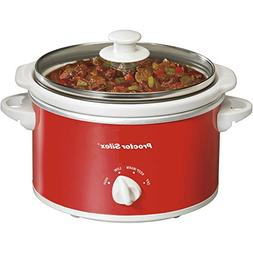 Proctor Silex 1.5 Quart Capacity Oval Best Slow Crockpot Coo