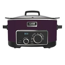 Ninja 4-in-1 Cooking System, Purple, 6 Qt