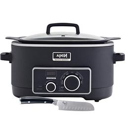 Ninja 3-in-1 Cooking System  Slow Cooker with Emeril Forged