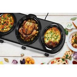1 in. x 4 qt. 2 in. x 1.5 qt. triple slow cooker   elite pla