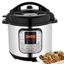 7-in-1 Multi-Use Electric Pressure Cooker, 6 Litre 1000 W In