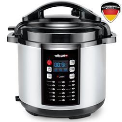 Mueller 10-in-1 Pro Series 19 Program 6Q Pressure Cooker wit