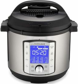 Instant Pot Duo Evo Plus Pressure Cooker 9 in 1,  6 Qt, 48 O
