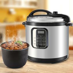 10QT 1400W Pressure Cooker Electric Digital Multipurpose Sta