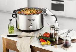 10qt Crock Pot 9qt Slow Cooker Big 10quart 9quart 10 9 Quart