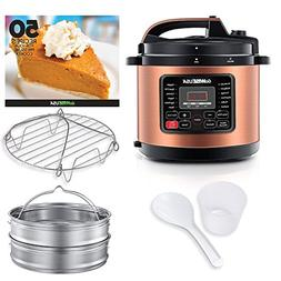 GoWISE USA 12-in-1 Electric Pressure Cooker + 50 Recipes for