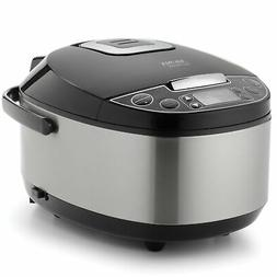 Aroma 12-Cup Egg Shape Digital Slow Cooker, Food Steamer and