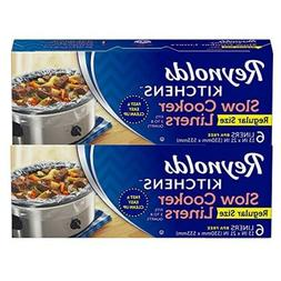 12 Liners Reynolds Kitchens Slow Cooker Liners 3 to 8 quart