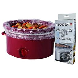 PanSaver 12 Pack Disposable Slow Cooker Liners Crockpot Line