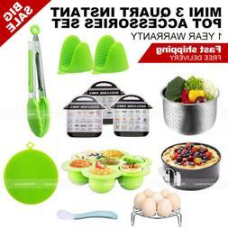 12 pieces instant pot accessories set fits