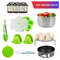 12pcs Pressure Cooker Accessorie Set Compatible with Instant