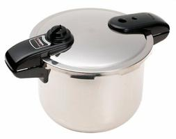 Presto 1370 8 Quart Stainless Steel Pressure Cooker/canner