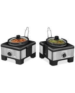 Bella 14013 Linkable Double Slow Cooker