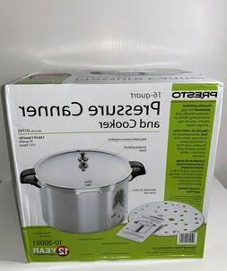 Presto 16-Quart Pressure Canner and Cooker 01745  - New In B