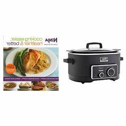 Ninja 2-in-1 6 Qt Stove Top Digital Slow Cooker Cooking Syst