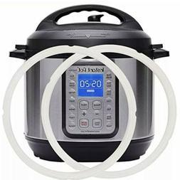 2-PACK Silicone Gasket For 5/6 Quart Instant Pot, Food-Grade