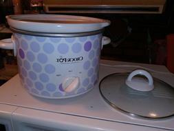 Rival 2 Quart Slow Cooker Crock Pot Small Size Ideal 1-2 peo