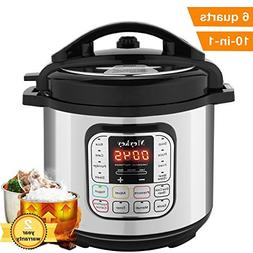 10-in-1 Intelligent Pressure Cooker, Slow Cooker, Rice Cooke