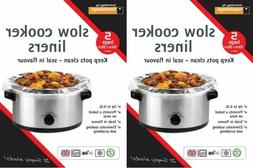 2 x packs slow cooker liners pk