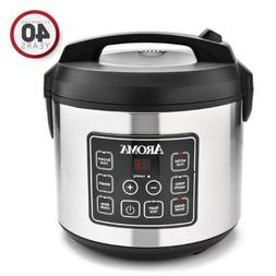 Aroma Housewares 20 Cup Cooked  Digital Rice Cooker, Slow...