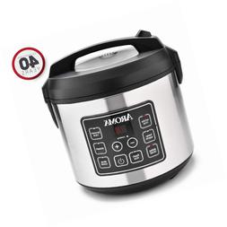 Aroma Housewares 20 Cup Cooked  Digital Rice Cooker, Slow, F