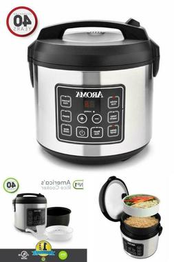 20 Cup of cooked rice Cooked  Digital Rice Cooker, Slow Cook