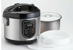 Aroma 20-Cup Professional Digital Rice Cooker, Food Steamer