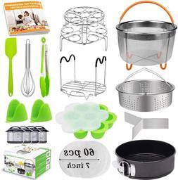 20Pcs Accessories for Instant Pot 6 qt 8qt, Ninja Foodi - 60