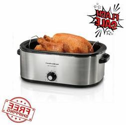 22 quart roaster oven fits 28 lb