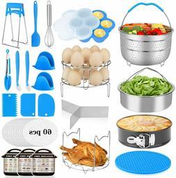 25Pcs Accessories for Instant Pot 6,8 Qt, Pressure Cooker Ac