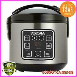 2QT Pressure Cooker Slow Mini Crock Pot Instant Small Aroma