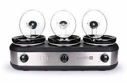 3 2 5qt slow cooker buffet server