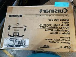Cuisinart 3.5 Qt Programmable Slow Cooker PSC-350