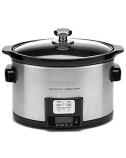 Cuisinart 3.5Qt Programmable Slow Cooker, Multicolor