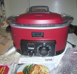 Ninja 3-in-1 6 Quart Stove Top Digital Slow Cooker Cooking S