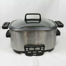 Cuisinart 3-In-1 Cook Central 6-Quart Multi-Cooker Slow Cook