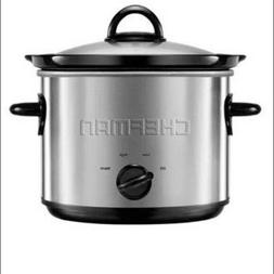Chefman 3-Quart Round Slow Cooker