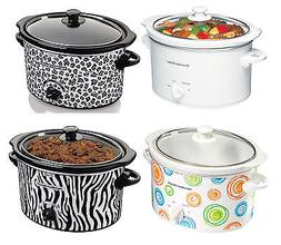 Hamilton Beach 3-Quart Slow Cookers