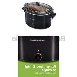 Hamilton Beach 33195 Extra-Large Stay or Go Slow Cooker 10 Q