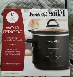 3qt Crock Pot Slow Cooker 3quart 3 Quart Big Crockpot qt Lar