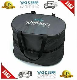 4-7Quart Crockpot Crock Carrying Bag Slow Cooker Travel Bag
