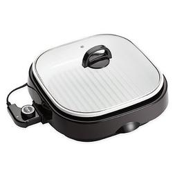 Aroma 4-Quart 3-in-1 Grillet with Ceramic Coating, 8 Lbs. We