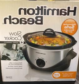 4 quart oval slow cooker with instruction