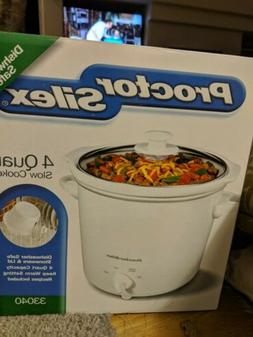 Proctor Silex 4 Quart Slow Cooker. NEW IN BOX