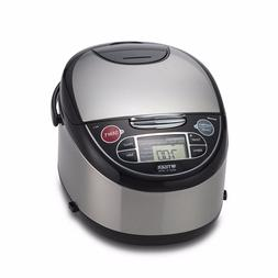 5.5-Cup Uncooked Micom Rice Cooker with Food Steamer & Slow