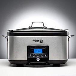 5-In-1 6-Qt Multi-Cooker Slow Cooker Brown/Sauté Sear With