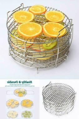 5 Layer Dehydrator Rack Stainless Steel Stand Accessories Co
