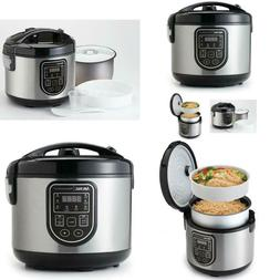 Aroma 5 Qt. Cool Touch Professional Digital Rice and Slow Co