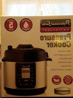 Instant Pot 5-Qt Slow Cooker 10-in-1 Programmable Pressure C